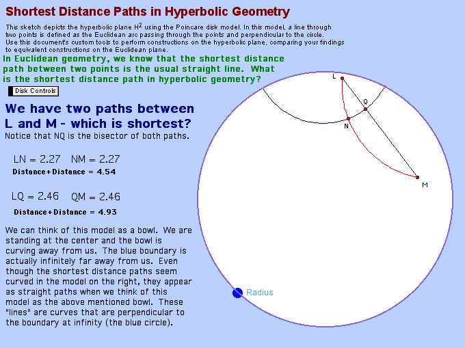 comparing and contrasting euclidean spherical and Euclidean vs noneuclidean geometry - free download as word doc (doc) the two most common non-euclidean geometries are spherical geometry and hyperbolic geometry.